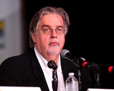 Matt Groening at a convention