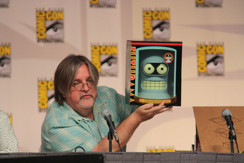Matt Groening at Comicon