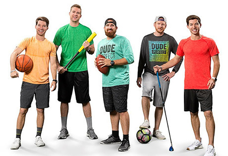 The Dude Perfect team